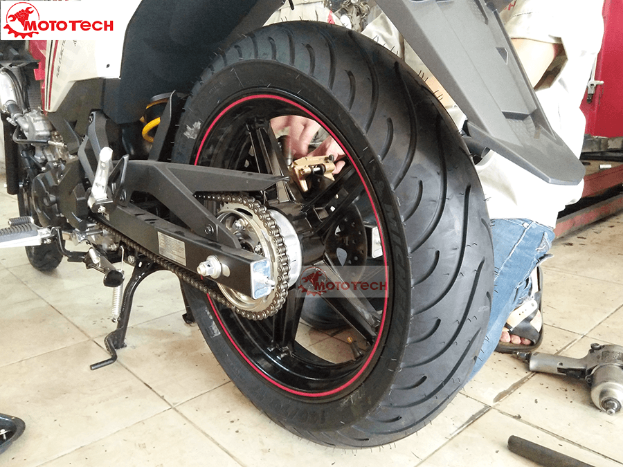 Lốp Michelin 140 cho Exciter 150
